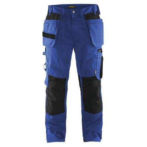 Craftsman trousers Blu fiordaliso/Nero