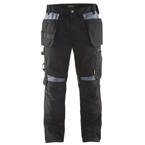 Craftsman trousers Nero/Grigio
