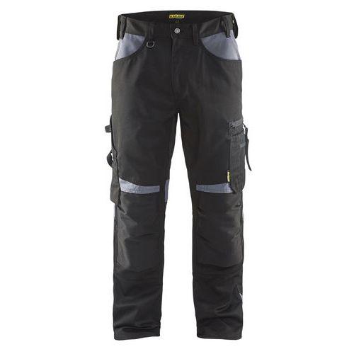Pantaloni senza tasche flottanti Nero/Grigio