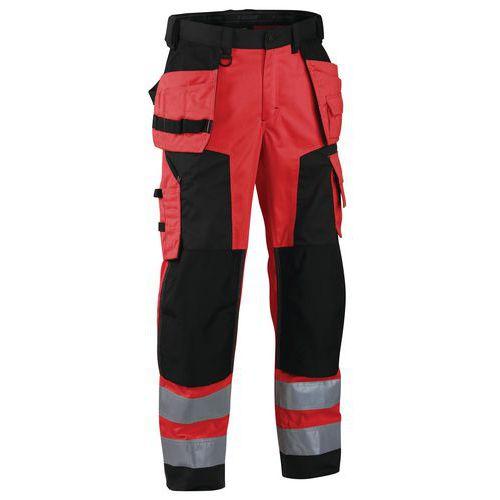 Pantaloni artigiano High Vis softshell