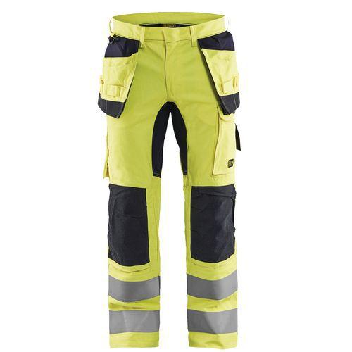 Pantaloni con stretch multinorma inerenti