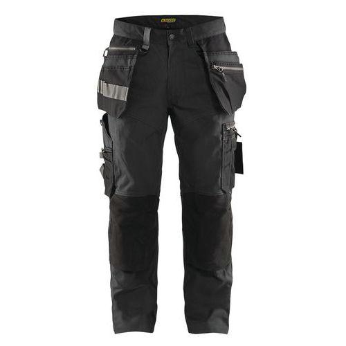 Craftsman trousers Grigio Scuro/Nero