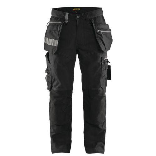 Pantaloni artigiano Nero