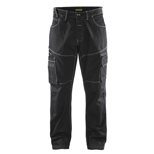 Pantaloni Denim X1900 Nero