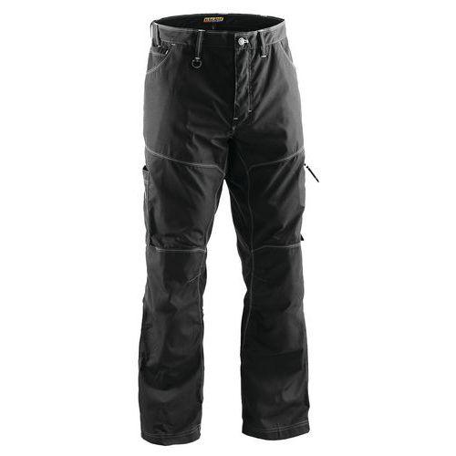 Pantaloni Denim X1900 Nero