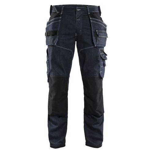 Pantaloni per artigianato X1900 Blu marino/Nero