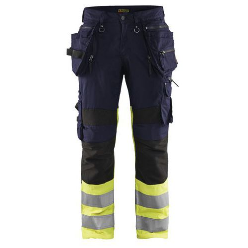 Pantaloni high vis X1900 stretch