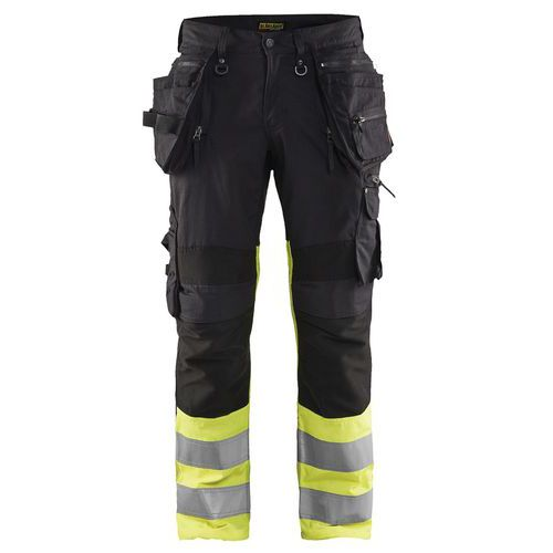 Pantaloni high vis X1900 stretch