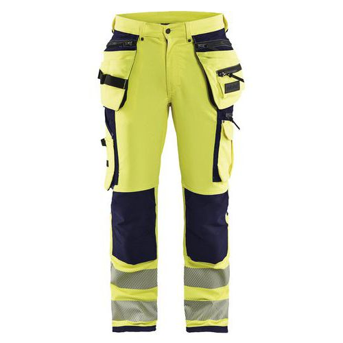 Pantaloni high vis stretch 4 vie