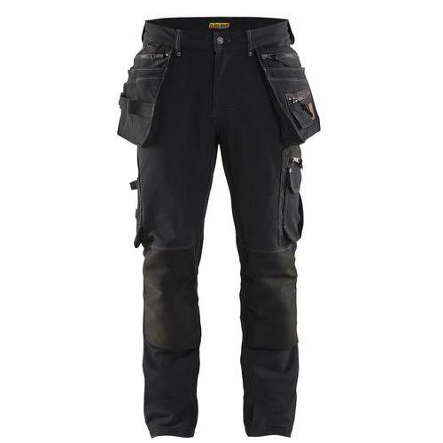 Pantaloni neri elasticizzati da artigiano X1900
