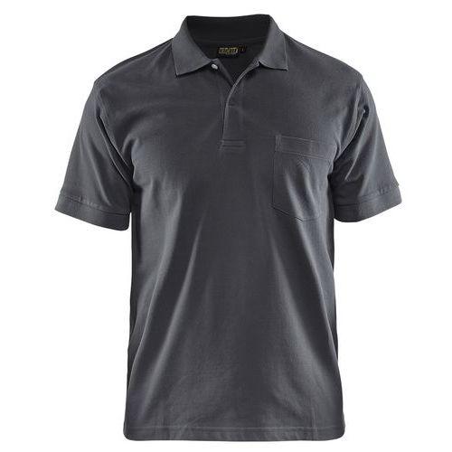 Maglietta Polo Grigio Scuro