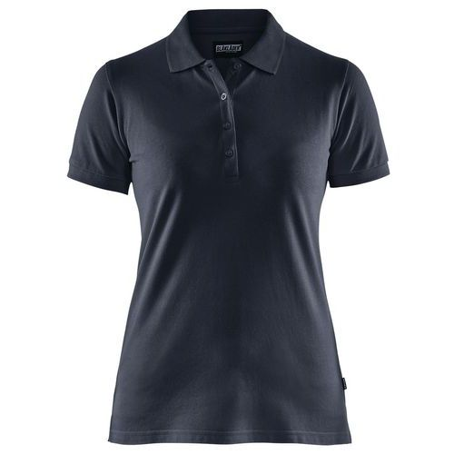 Maglietta Polo Donna Blu marino