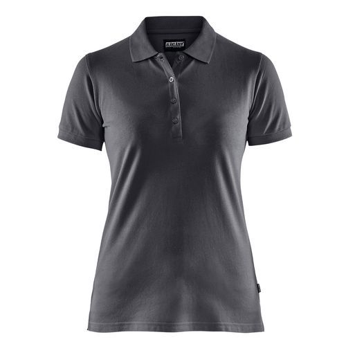 Maglietta Polo Donna Grigio Scuro