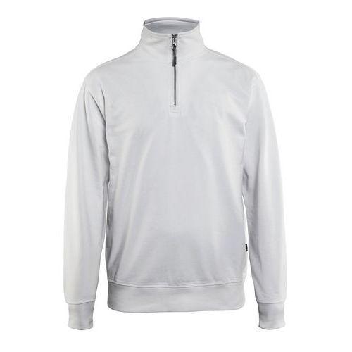 Sweatshirt half zip Bianco