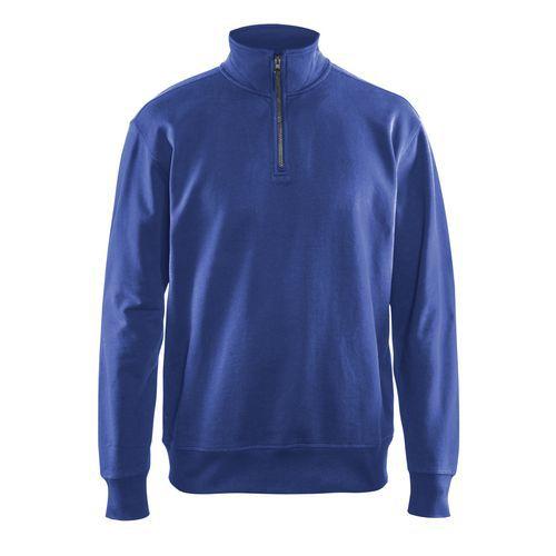 Sweatshirt half zip Blu fiordaliso