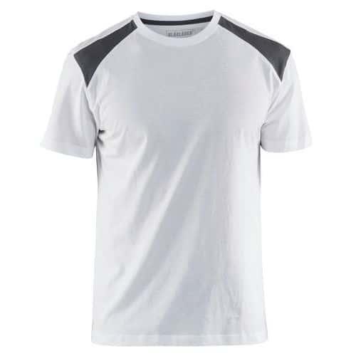T-shirt  Bianco/Grigio