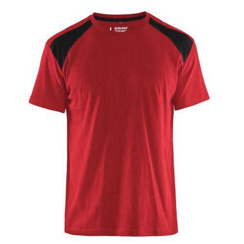 T-shirt  Rosso/Nero