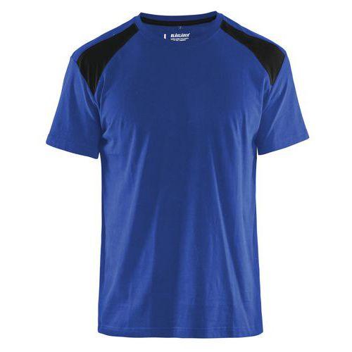 T-shirt  Blu fiordaliso/Nero
