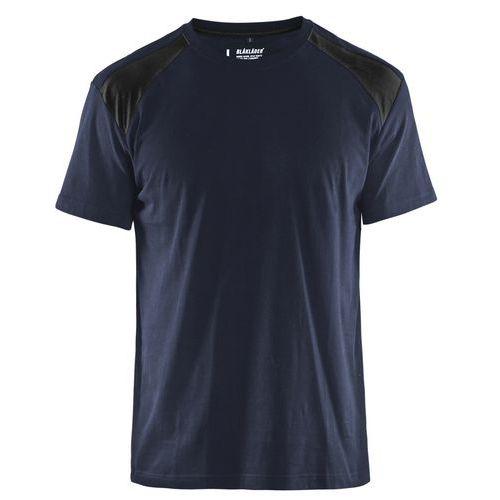 T-Shirt Blu scuro / nero