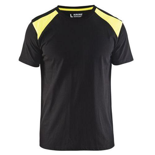 T-shirt  Nero/Giallo