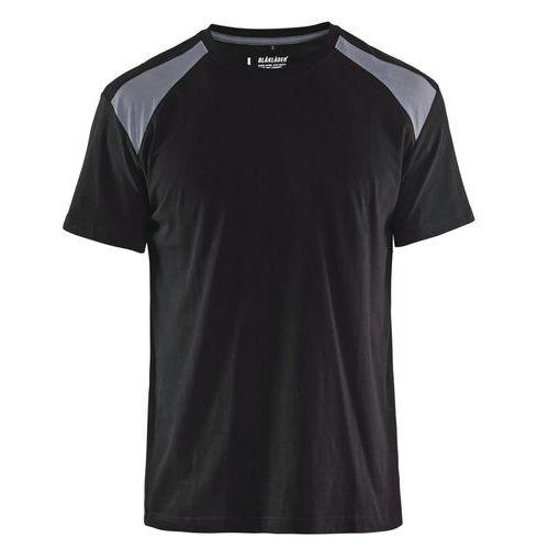 T-shirt  Nero/Grigio