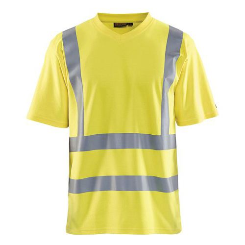 T-Shirt High vis Giallo