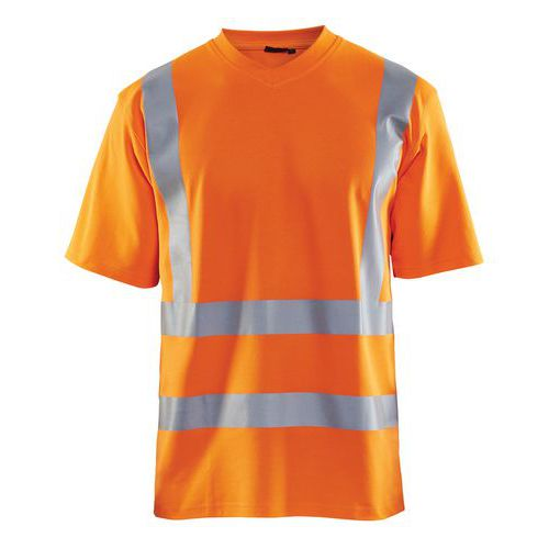 T-Shirt High vis Arancione