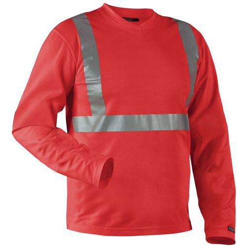 T-shirt High Vis a manica lunga