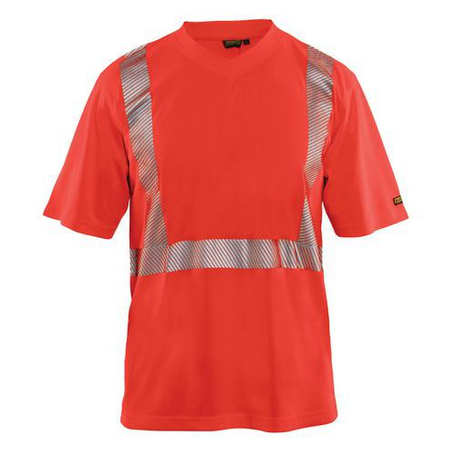Hivis T-Shirt Rosso