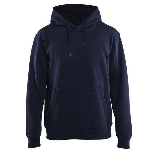 Sweatshirt med luva Blu marino