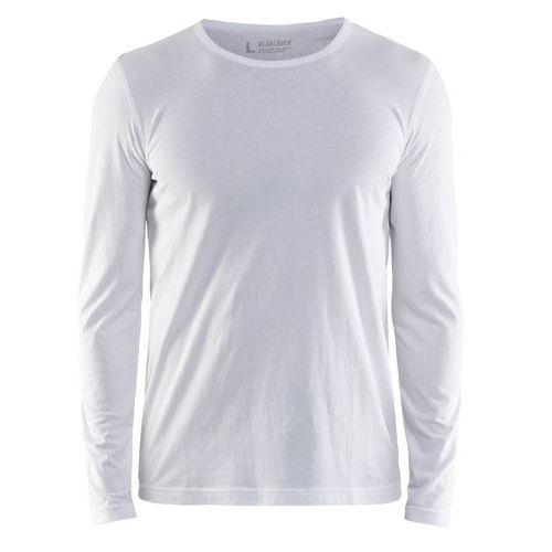 T-shirt Long-sleeve Bianco