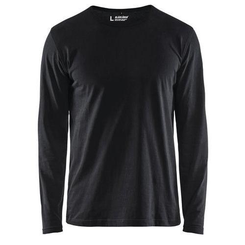 T-shirt Nero manica lunga
