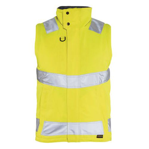 Hivis vest pile lining Giallo