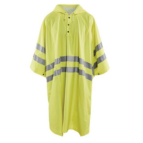 Poncho impermeabile high vis level 1