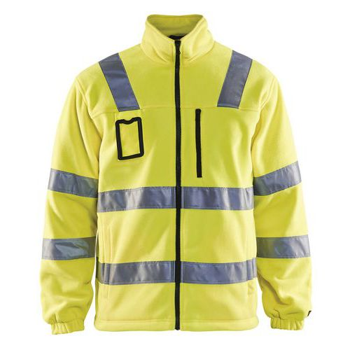 Giacca in pile High vis