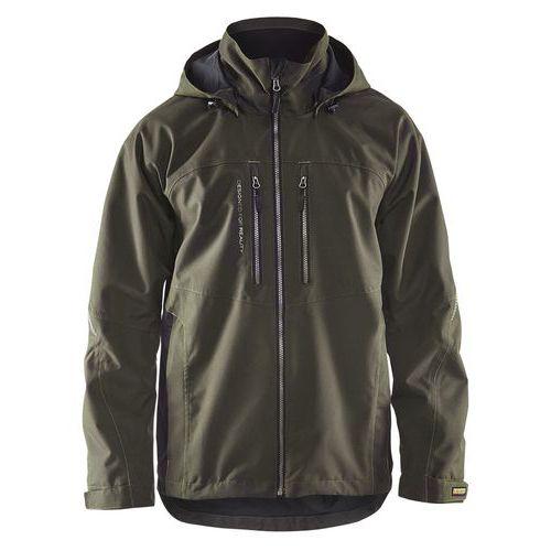 Functional jacket Verde oliva scuro/nero
