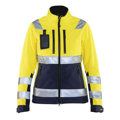 Giacca donna Softshell High Vis