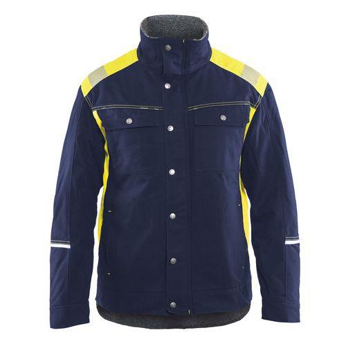 Visibility Winterjacket Blu marino/Giallo
