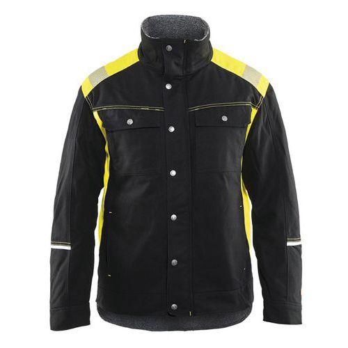 Visibility Winterjacket Nero/Giallo