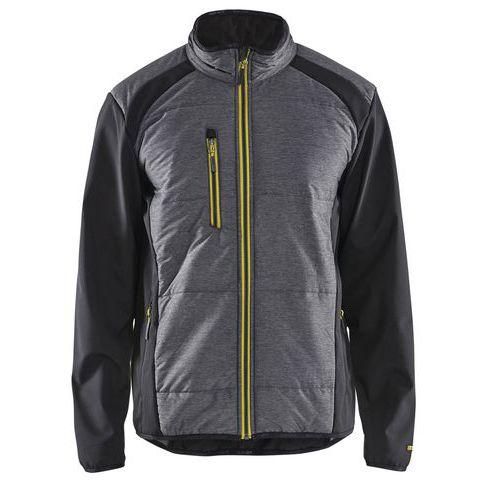 Insulation jacket Nero/Giallo