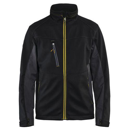 Softshell  Jacket Nero/Giallo