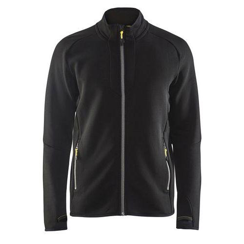 Fleece jacket Evolution Nero