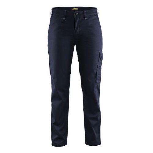 Woman trouser Industri line Blu marino/Blu fiordaliso