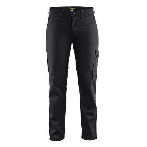 Woman trouser Industri line Nero/Rosso