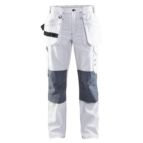 Painter  Women´s Trouser Bianco/Grigio