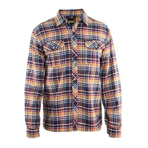 Camicia Blu marino/Arancione