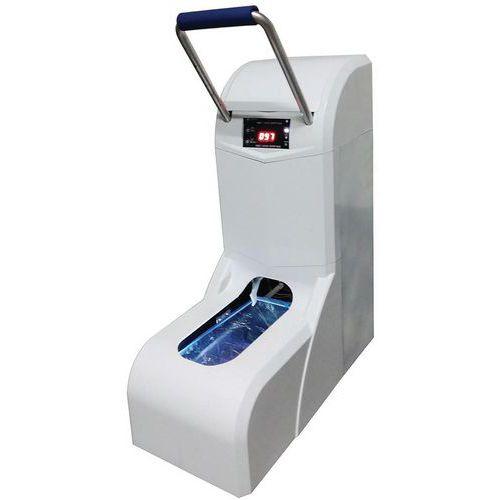 Distributore automatico di sovrascarpe