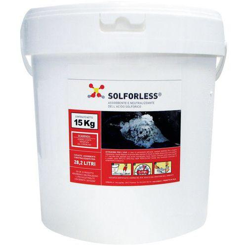 Assorbente acido batterie Solforless