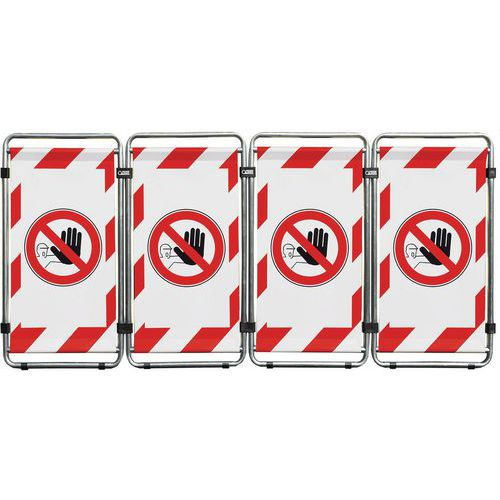 Transenna Safe Work Smart monofacciale - Vietato l'accesso