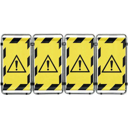 Transenna Safe Industry Smart monofacciale - Pericolo generico